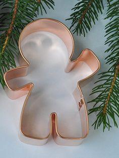 Gingerbread boy cookie cutter ecrandal Waving Gingerbread