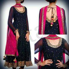 Punjabi anarkali salwar Kameez Bollywood Designer Indian Embroidery Bridal suit in Clothing, Shoes & Accessories, Cultural & Ethnic Clothing, India & Pakistan Pakistani Wedding Outfits, Pakistani Dresses, Indian Dresses, Indian Outfits, Mode Bollywood, Bollywood Fashion, Designer Kurtis, Indian Attire, Indian Ethnic Wear
