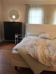 Schramm Bett mit cattelani leuchte - inneneinrichter hecht tübingen