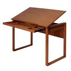 Studio Designs Ponderosa Wood-Topped Table |  drafting desk from Overstock.com