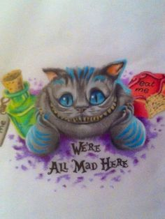 cheshire cat die grinsekatze cheshire cat tattoos pinterest tattoo ideen tattoo. Black Bedroom Furniture Sets. Home Design Ideas