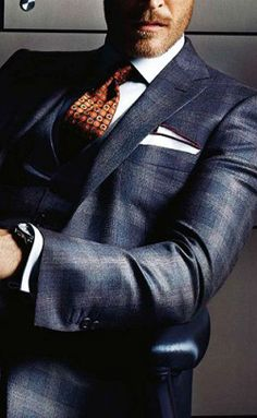 Great look and great suit.