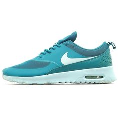 Nike Air Max Thea Women's ($105) ❤ liked on Polyvore featuring shoes, athletic shoes, perforated shoes, slim shoes, synthetic shoes, traction shoes and nike athletic shoes