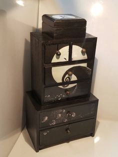 The Nightmare Before Christmas Drawers Gothic Punk Emo Custom Nightmare Before Christmas Bedroom Decor Review