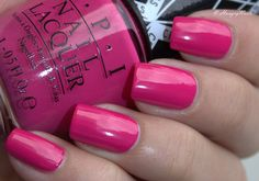 HungryNails: Lacke in Farbe und bunt   Hey Baby it's Pink!