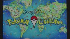[<3 avec les doigts] Attrapez tous les Pokémon sur Google Maps