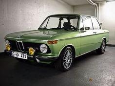 1974 BMW 2002tii Lime