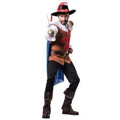 Déguisement Mousquetaire D'Artagnan pour homme #déguisementsadultes #costumespouradultes #nouveauté2017