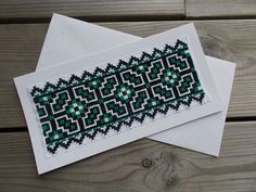 Bookmark traditional inspiration cross by CamisTheCrossStitch