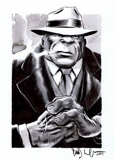 Hulk as Mr. Fixit by Someone Whose Signature I Can't Read