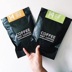 Follow us on Instagram @coffeenotcoffee www.coffeenotcoffee.com.au African Mango Coffee and Detox Green Tea