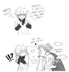 Killua and Hisoka   Hunter x Hunter funny (part.1)