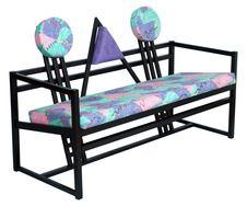 Mid century modern bench sofa in the manner of Gerrit Rietveld - MAS34