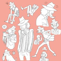 "chaolansan: "" 八次元 byぁゃ "" Jigen with an aran cardigan…priceless! (> v"
