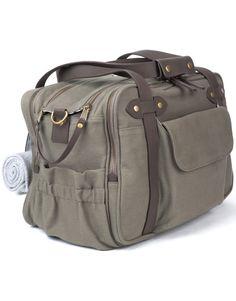 Khaki Charlie Bag - Diaper Bags - Shop Now... Total splurge!!