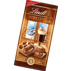 Lindt Irish Coffee milk chocolate bar (100g) -- Awesome products selected by Anna Churchill
