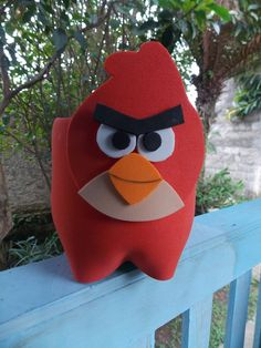 Lembrancinha Angry Bird na pet