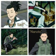 Shikamaru in Fairy tail!?