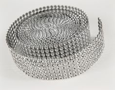 "For Candles, Vases and...?    Diamond Mesh Ribbon Wrap 1.2"" wide x 9.8 feet $5 Roll ($.51 ft)"