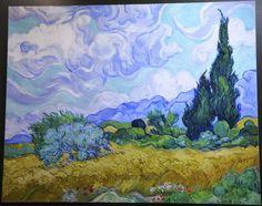"Van Gogh's ""Cypress'"""