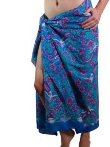 5cd40fb1e2 100% cotton sarong. Designed by me and printed in India on fine cotton Voile