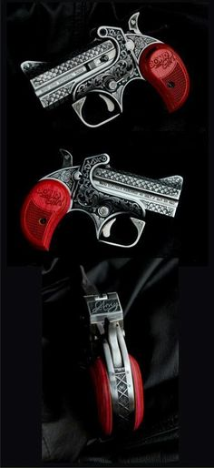 Bond Arms engraved derringer.