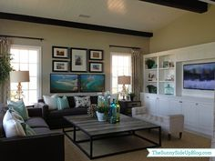 Fun decor (model home) - The Sunny Side Up Blog