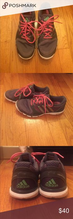 Adidas Running Shoes These great Adidas running shoes are in excellent used condition. Only worn a handful of times. adidas Shoes Athletic Shoes