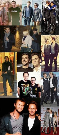 Hiddles Loves A Good Bromance | This Post Will Destroy Your Life - Tom Hiddleston