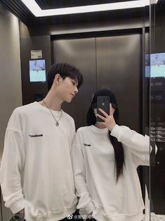 Cute Couple Dp, Matching Couple Outfits, Cute Couple Pictures, Couple Ulzzang, Ulzzang Korean Girl, Couple Goals Teenagers, Cute Couples Goals, Cute Relationship Goals, Cute Relationships