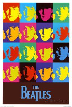 Beatles - Warhol Pôsters na AllPosters.com.br