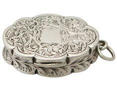 Sterling Silver Vinaigrette - Antique Victorian