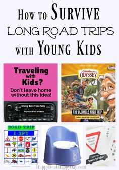 How to Survive Long Road Trips with Young Kids - 14 tips to be sure you not only survive, but THRIVE on long road trips with young kids!