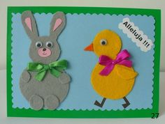 Easter scrapbooking card Handmade Decorations, Tweety, Origami, Easter, Christmas Ornaments, Holiday Decor, Cards, Bulletin Boards, Scrapbooking