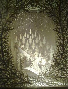 vitrinas navideñas en wolfrik