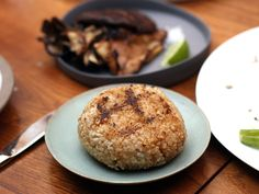 grilled brown rice