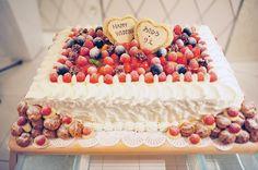ウェディングケーキ 生ケーキ オリジナルケーキ オリジナルウェディングケーキ レストランウェディング 結婚式 大分県大分市新栄町4-10 シュシュウェディング 097-529-5666