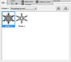 Using Photoshop Shapes in Paintshop Pro | Scrapbook Campus