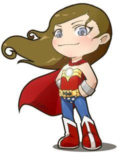 Wonder Woman by Jessica Fuller #chibi