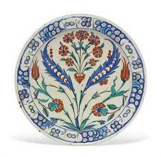 an_iznik_pottery_dish_ottoman_turkey_circa_1590_d5551059h