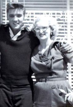 July 27, 1954: Elvis had lunch with Marion Keisker & Edwin Howard a reporter to promote his first ever record.