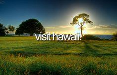 Visit Hawaii | Bucket List