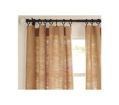 burlap curtains   Burlap Curtains Target