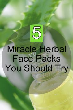Herbal Face Packs: The homemade herbal face pack gives you clear, smooth and glowing skin with regular use.