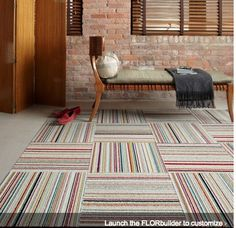 Traditionally, the important things to aspire to in a home was wall-to-wall carpet. And also while wall-to-wall is definitely comfy as well as brings with it a number of benefits, as trends have . Read Best Carpet Tiles Ideas for Your Dream House Pink Carpet, Carpet Colors, Grey Carpet, Orange Carpet, Brown Carpet, Wall Carpet, Carpet Tiles, Rugs On Carpet, Stair Carpet