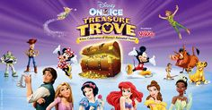 Disney on Ice presents Treasure Trove - Win a Family 4 Pack! Enter today!