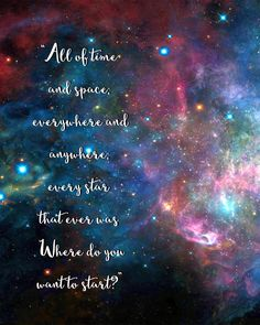 Doodlecraft: Doctor Who Galaxy Quote Freebie printable