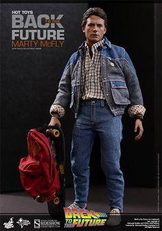 Zurück in die Zukunft Movie Masterpiece Actionfigur 1/6 Marty McFly 28 cm