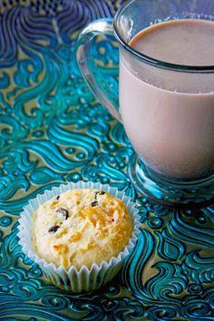 orange cranberry chocolate ginger muffins| cakeduchess.com