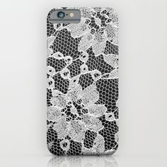 black+and+white+laced+iPhone+&+iPod+Case+by+McKenzie+Nickolas+(kenzienphotography)+-+$35.00